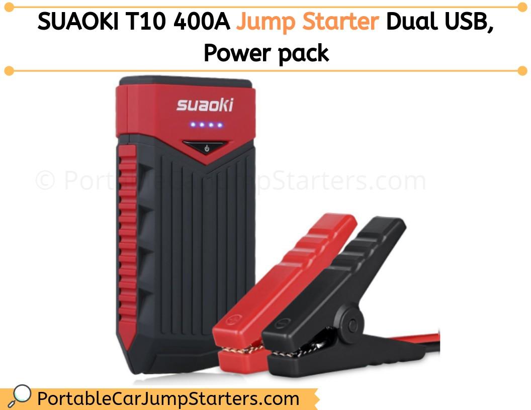 Thumbnail for SUAOKI T10 12,000mAh portable auto jump starter Reviews 2020