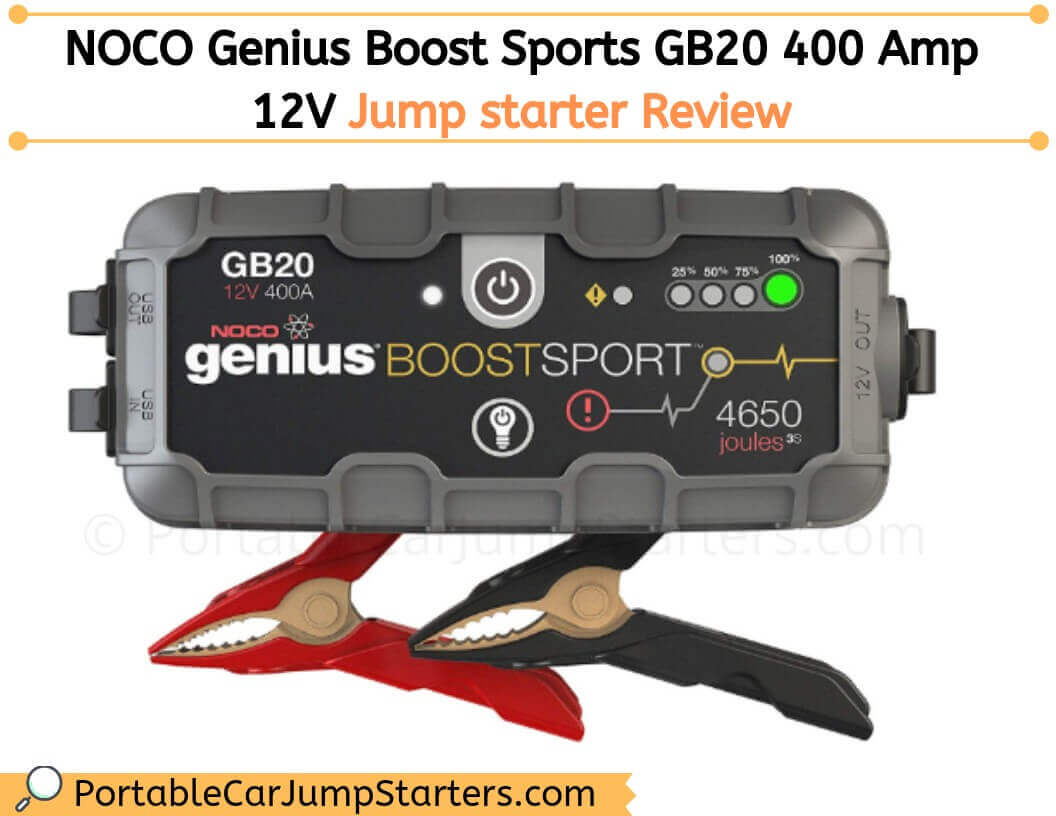 Thumbnail for NOCO Genius Boost Sport GB20 – A Jump Starter For Motorcycles & Cars