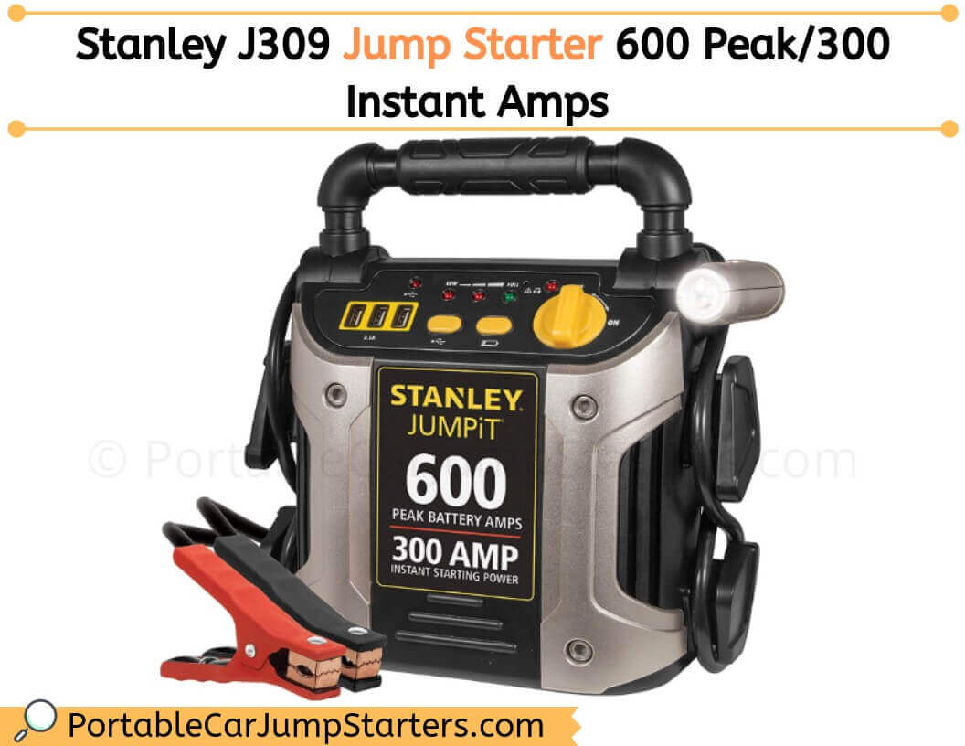 Thumbnail for Stanley J309 JUMPiT 600 Peak – Should You Buy this Car Jump Starter?