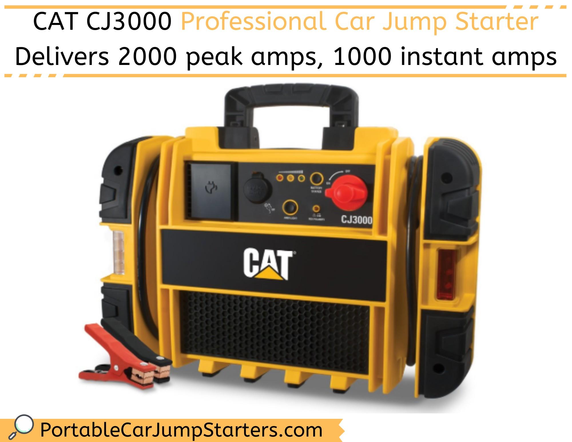 CAT CJ3000 2000A Peak Professional Car Jump Starter