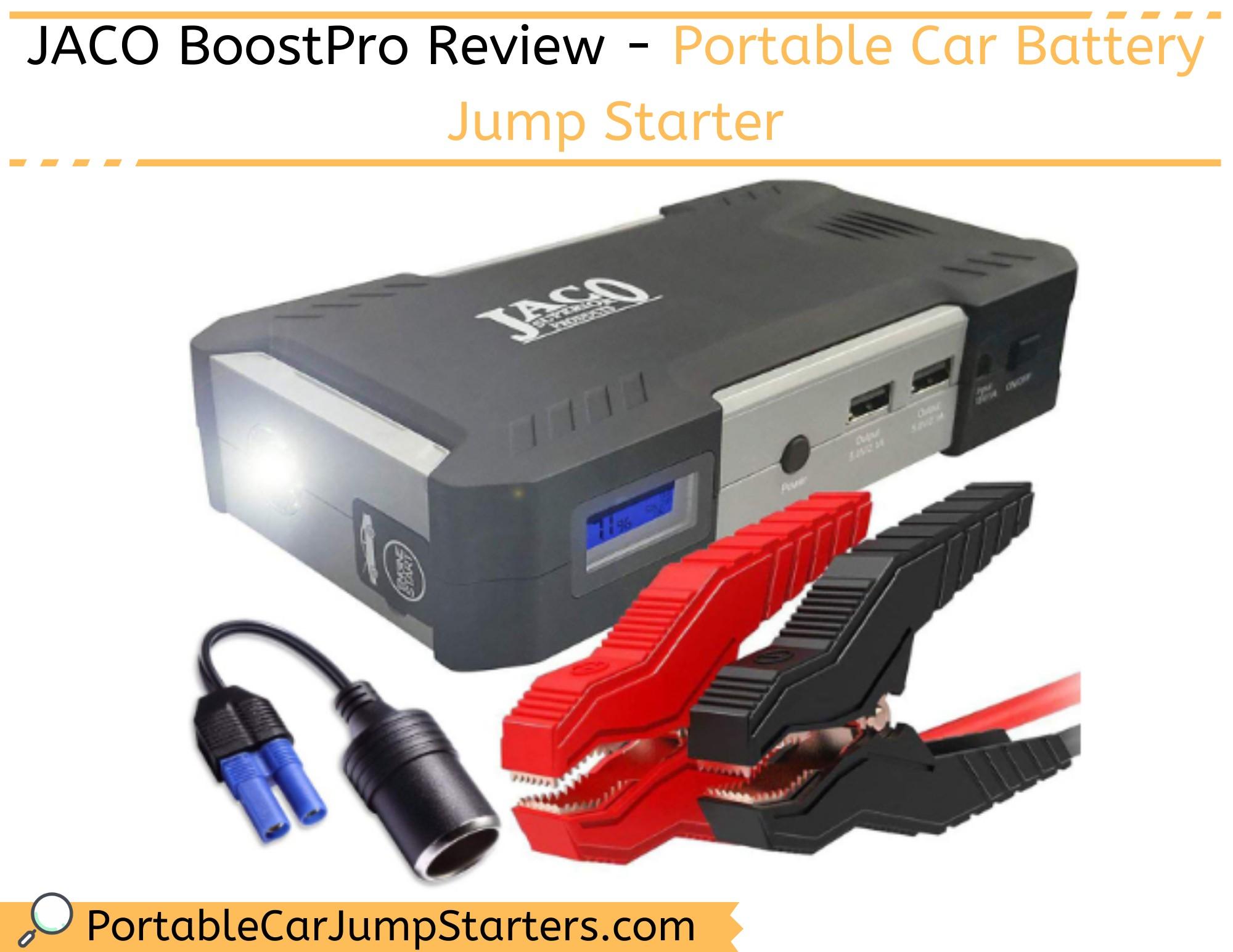 Thumbnail for JACO BoostPro Review – Portable Car Battery Jump Starter