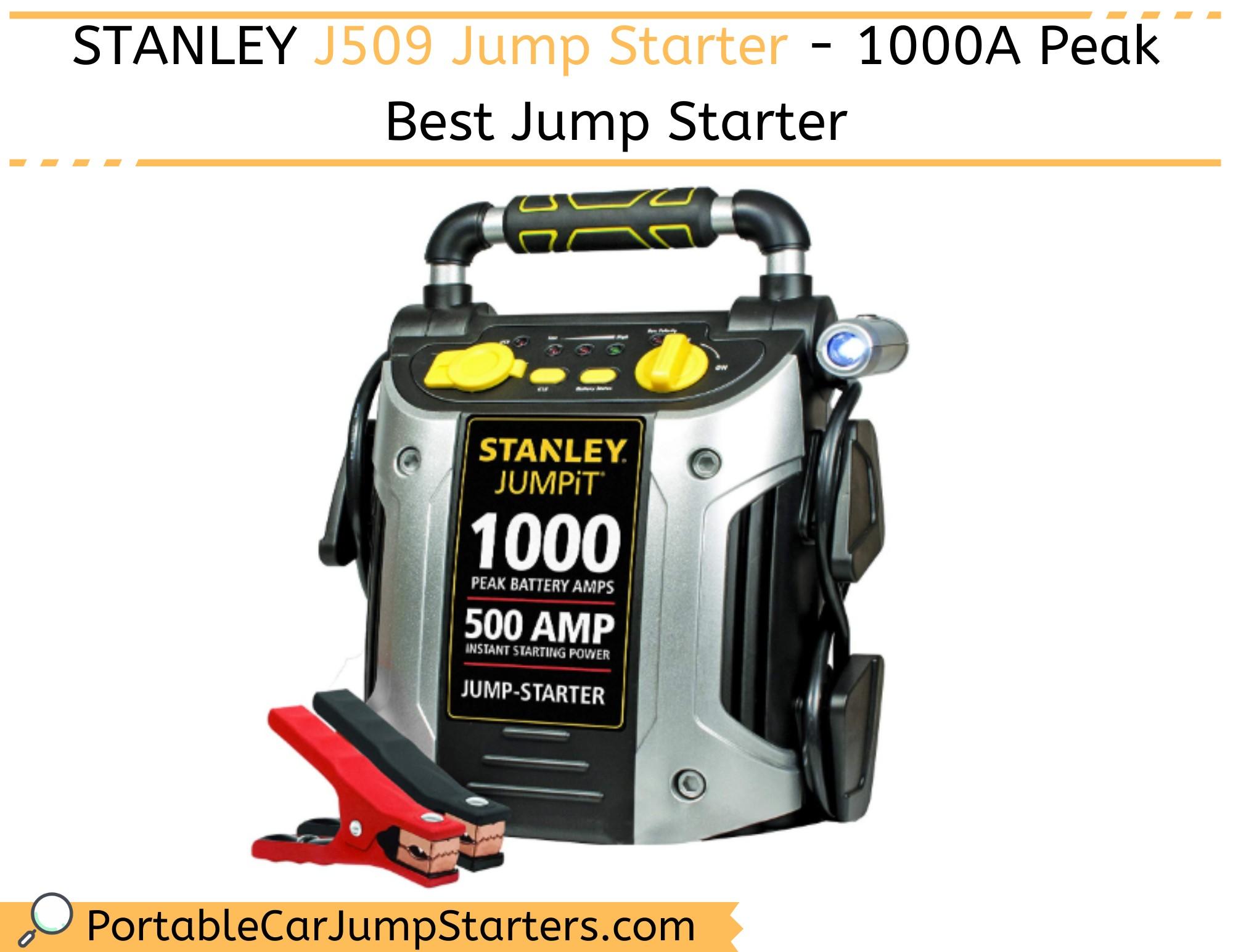 Thumbnail for STANLEY J509 Jump Starter – 1000A Peak