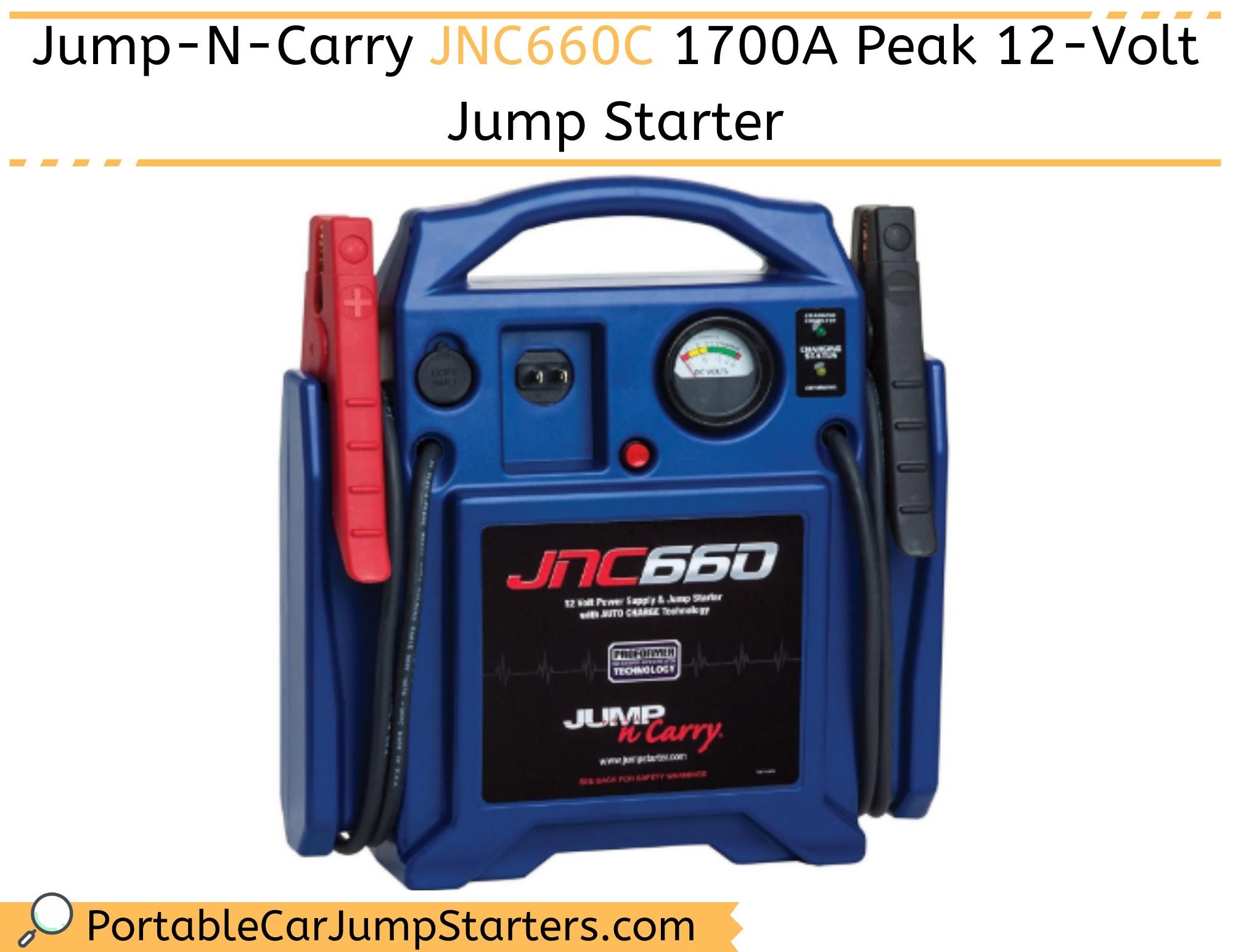 Thumbnail for Jump-N-Carry JNC660C 1700A Peak 12-Volt Jump Starter (CEC Compliant)