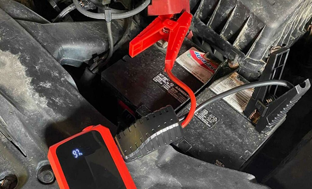 Connecting to a car battery