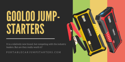 Best GOOLOO Jump Starter review + where to buy + are they worth it.